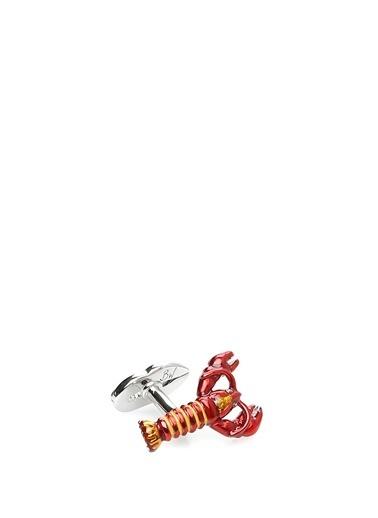 Babette Wasserman Kol Düğmesi Kırmızı